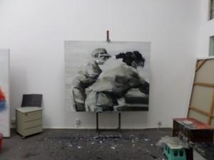 Studio of Guo Qingling, December 2014, photo: Melissa Butcher