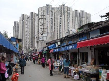 New apartment blocks, Dinghaiqiao, December 2014, photo: Melissa Butcher