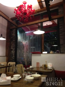 Image (2): A Chinese restaurant in Shanghai. Photographer: IP Tsz Ting (Penn), 2014