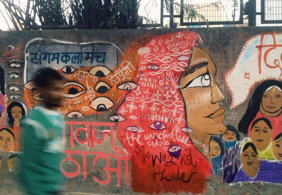 """Delhi: """"Look at me with your heart, not your eyes"""""""