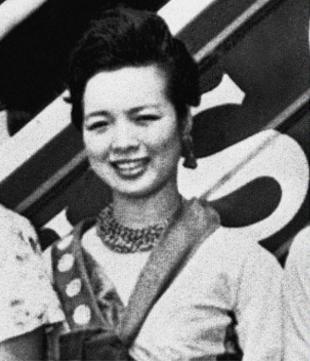 Image via The Atlantic; Mihija Sohn, Miss Korea 1960